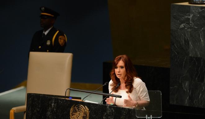 """CFK: """"El 1% de la población mundial tiene el 50% de la riqueza del mundo"""""""