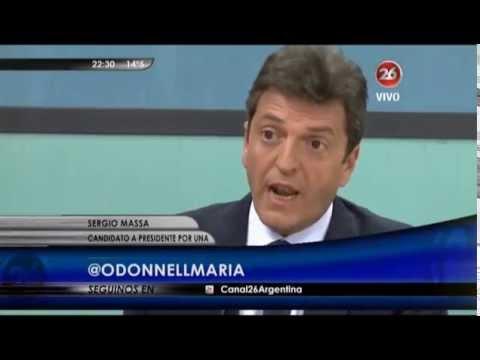 """Massa: """"De los 8 años de Scioli como gobernador, los chicos tuvieron 7 años de clase. Y te pasa lo mismo en la Ciudad: de 8 años de gestión de Macri, 7 años y 2 meses"""""""