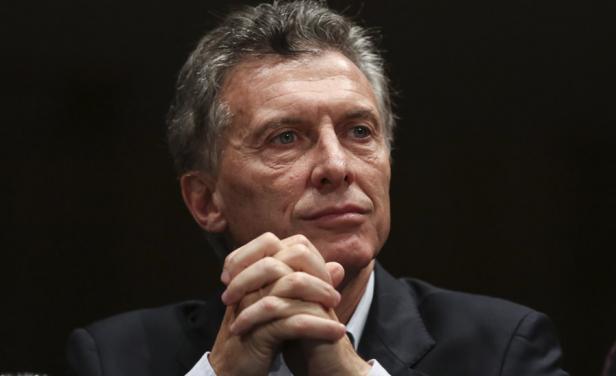 """Macri: """"Las cuentas fiscales de Argentina no están bien, nos han dejado un grandísimo déficit fiscal, (…) uno de los más altos seguramente de la historia de nuestro país"""""""