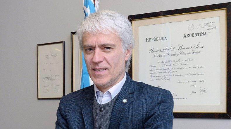 "Ricardo Sáenz: ""Para que Cristina vaya presa tiene que haber peligro de fuga""."