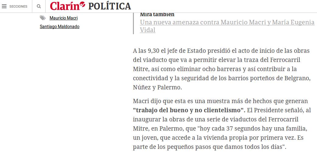 """Macri: """"Hoy cada 37 segundos hay una familia, un joven, que accede a la vivienda propia por primera vez"""""""