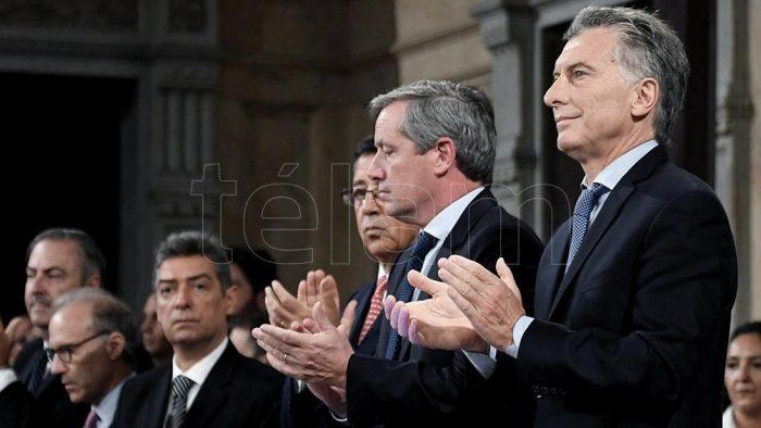 """Macri: """"Según el INDEC, las mujeres cobran casi 30% menos que los hombres"""""""