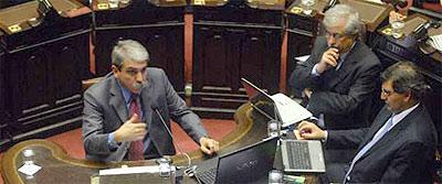 """Aníbal Fernández: """"En la Argentina bajó el nivel de inseguridad"""""""