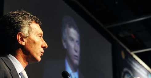 Macri: en el mundo globalizado no se grava la renta financiera