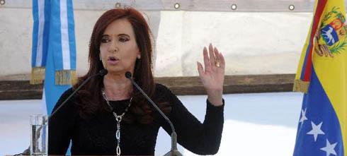 Cristina Fernández: tenemos la brecha de desigualdad más pequeña desde 1974