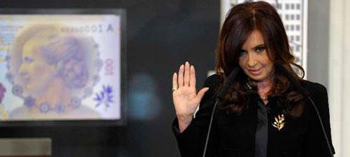 """CFK: """"De aquellos 200 pesos a estos 2875 [el aumento del salario mínimo, vital y móvil] significa un 1338%"""""""