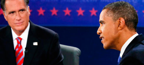 Obama – Romney: los datos del debate