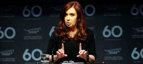 """CFK: """"[Este] proyecto político ha generado más de cinco millones y medio de puestos de trabajo"""""""