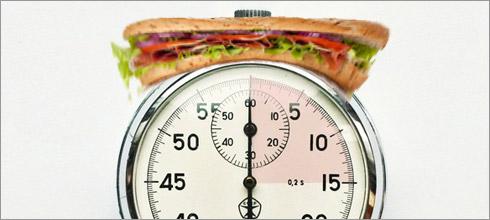 ¿Comer rápido engorda?