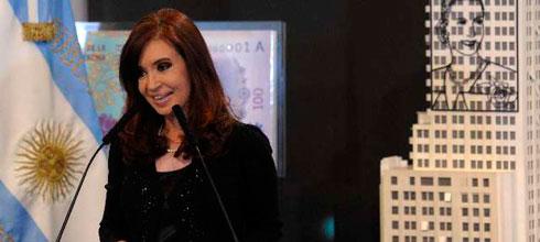 """CFK: """"En la Argentina hay una diferencia abismal entre la inversión estatal en investigación y desarrollo, y la que hacen los privados"""""""