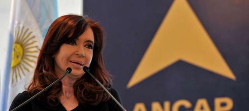 """CFK: """"Tenemos un país donde se permite (...) realizar tareas de cabotaje a empresas  extranjeras, cosa que no es recíproca"""""""