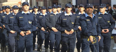¿Se pueden sindicalizar los policías?