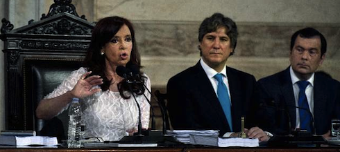 """CFK: """"La Argentina es el país que más se ha desendeudado del mundo"""""""