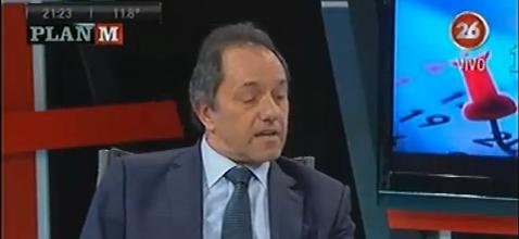 """Scioli: """"Hemos duplicado la cantidad de parques industriales"""""""