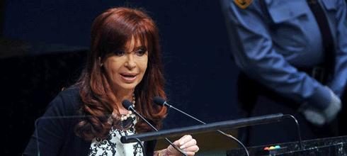 """CFK: """"El crecimiento realizado por la Argentina entre 2004 y 2011 es el tercero a nivel global en calidad de crecimiento"""""""