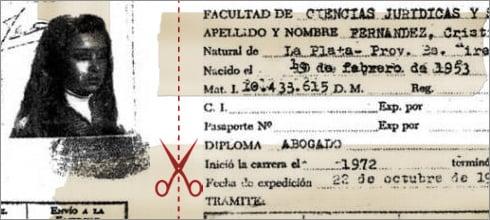¿CFK no tiene título de abogada?