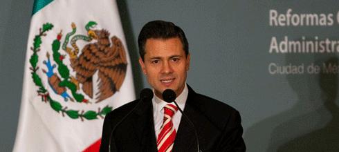 """Enrique Peña Nieto: """"Impulsamos una política de seguridad que permitió reducir los homicidios dolosos"""""""