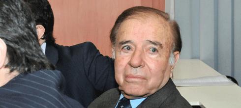 """Abal Medina, sobre Menem: """"Votó el 90% de las veces en contra nuestra y el 10% a favor"""""""