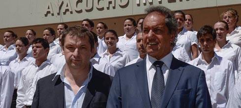"""Scioli: """"A partir de los 12.200 policías que están en la Costa los índices de inseguridad bajaron más del 80%"""""""
