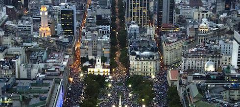 Cómo calcular cuánta gente fue a una marcha