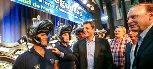 """Massa: """"Bajamos un 80% el delito automotor en Tigre"""""""