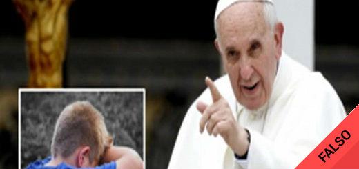Es falso que el Papa Francisco abusó de un chico mexicano de 11 años en la década del 90