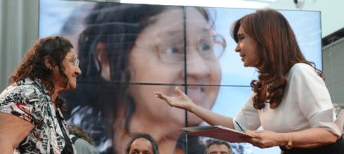 """CFK: """"Cuando Néstor [Kirchner] llegó al Gobierno (…) los jubilados representaban el 66%"""""""