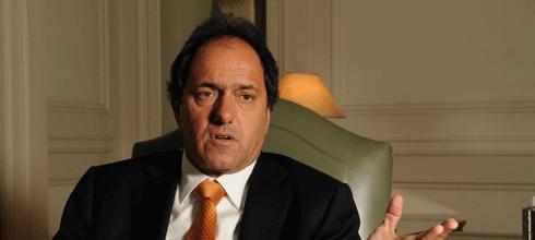 """Scioli: """"[Si hubiera problema con las divisas], la industria de la Provincia estaría parada"""""""