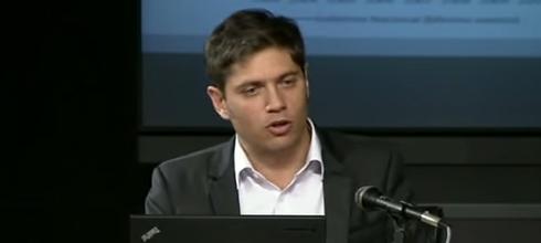 """Kicillof: """"Si tomamos sólo los empleos privados registrados, en el último año crecieron en 180 mil"""""""