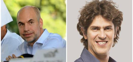 La carrera pública de los dos candidatos porteños