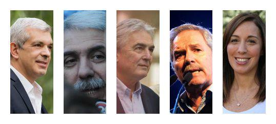 Mirá los cargos que ocuparon los principales precandidatos a gobernar Buenos Aires
