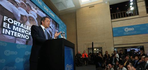 """Scioli: """"La Argentina es el país de la región donde más creció la clase media"""""""