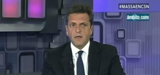 """Massa: """"En la Argentina hay más personas con pedido de captura que detenidos"""""""