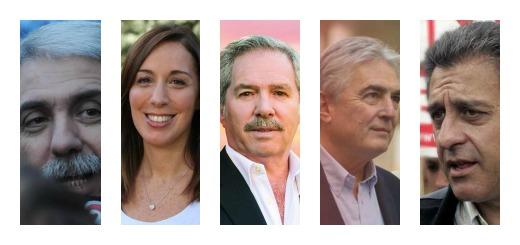 Conocé la carrera política de los cinco candidatos a Gobernador de la Provincia de Buenos Aires