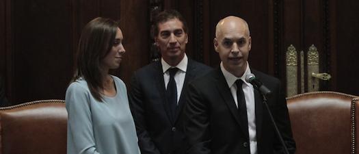#Traspaso: un chequeo al discurso de asunción de Rodríguez Larreta