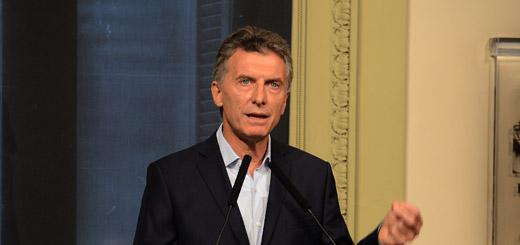 """Macri: """"Tenemos más de mil prófugos en la Argentina"""""""