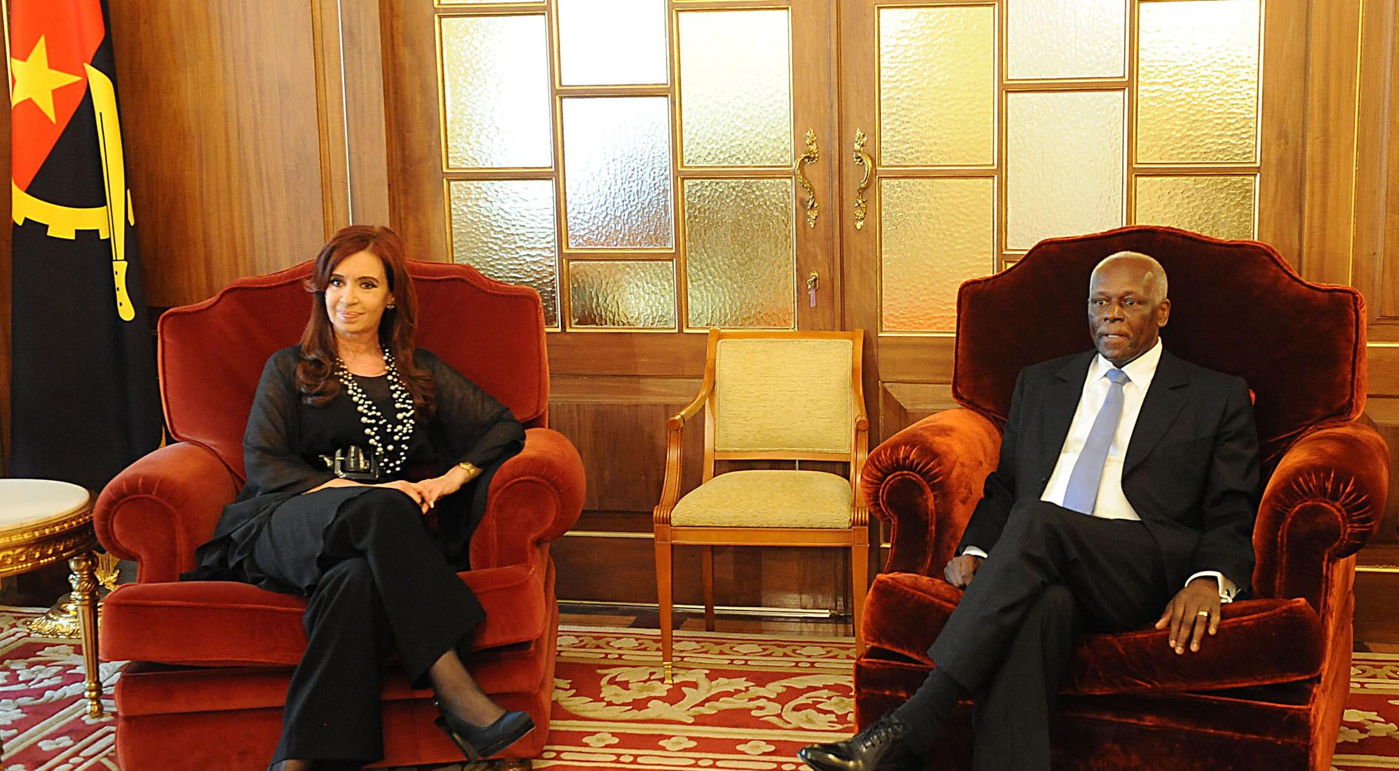 """Camaño: """"Después de [la visita de Moreno a] Angola el comercio externo con Angola bajó el 37%"""""""