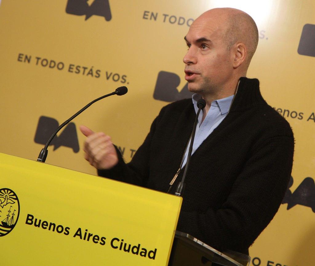 """Rodríguez Larreta, sobre Grindetti: """"Ni siquiera está imputado, lo pidió el fiscal, no está confirmado"""""""