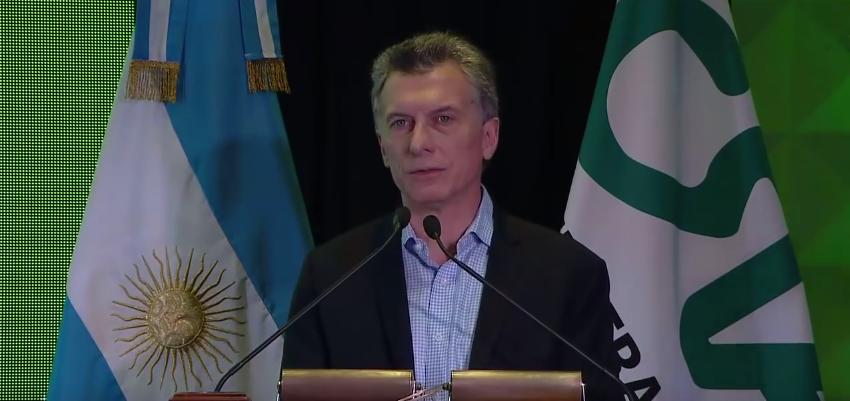 """Macri: """"La población con empleo apenas supera el 40%, y en la mayoría de los países de la región está arriba del 50%"""""""