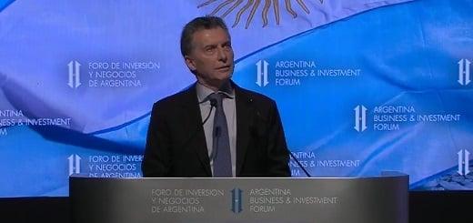 """Macri: """"Cuando uno ve sector por sector, en ningún caso la importación es más del 2 o 3% del total del mercado"""""""