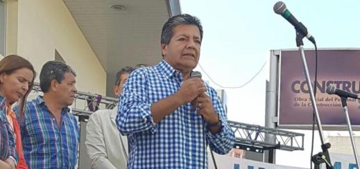 """Gerardo Martínez: """"[En el sector de la construcción se perdieron] 60 mil puestos directos de trabajo"""""""
