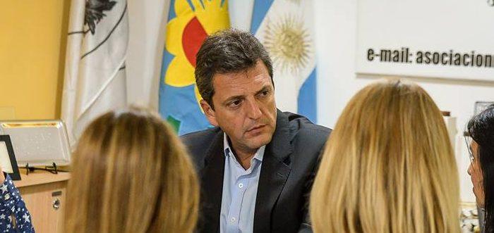 """Massa: """"Un chico de 13 años (…) en la Argentina no tiene ley de víctimas, no puede ser parte del proceso"""""""