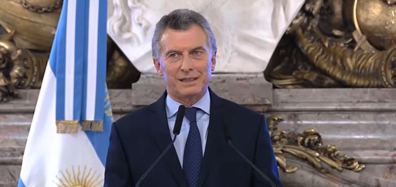 "Macri: ""Vaca Muerta representa la 2º reserva mundial de gas y la 4º de petróleo no convencional"""