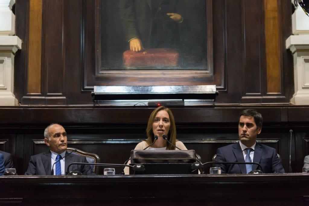"""Vidal: """"Aumentamos 100% los montos que enviamos a los comedores escolares"""""""