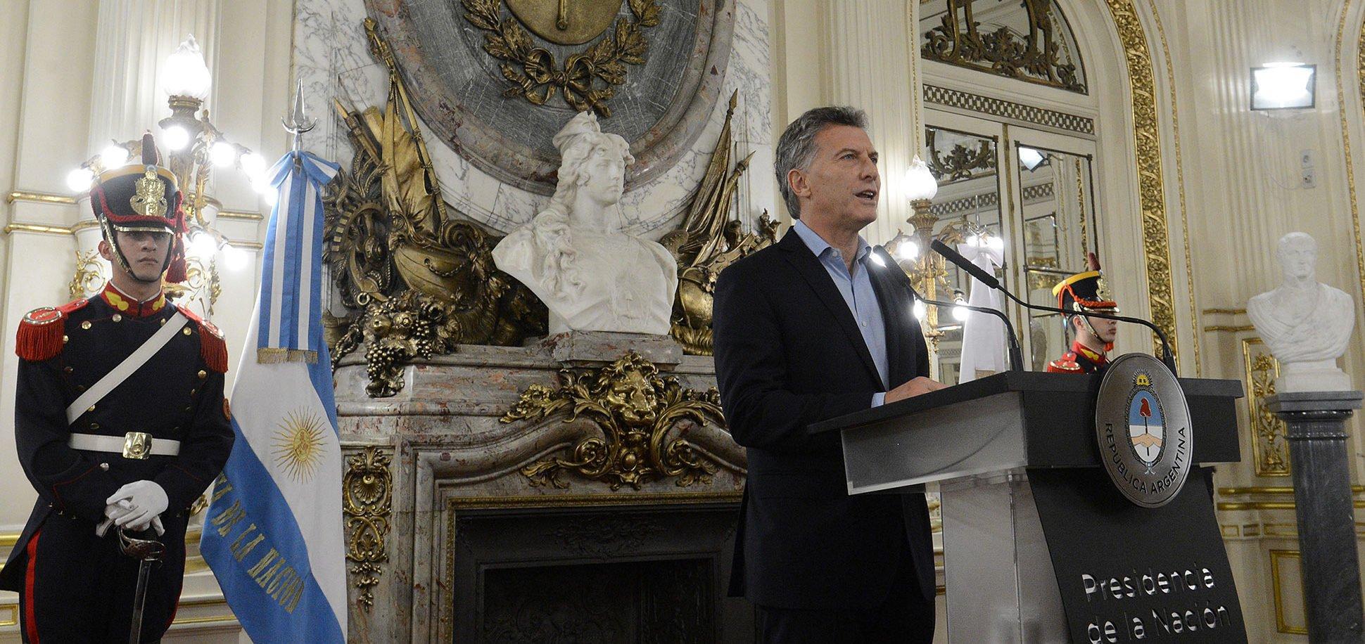 "Macri: ""Este primer trimestre del 2017 estamos batiendo el récord de la historia de la obra pública en la Argentina"""