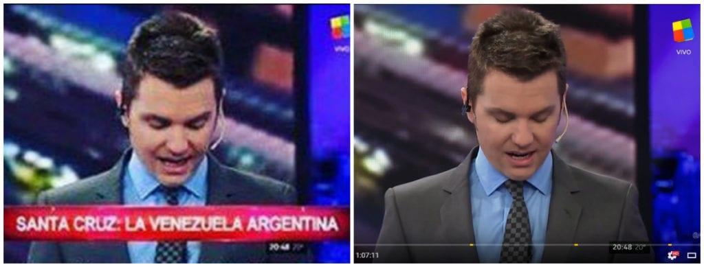 #FalsoEnLasRedes: los zócalos sobre Santa Cruz que difundió CFK nunca existieron