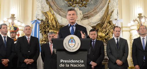 """Macri: """"Este año logramos bajar los cortes [de luz] 45%"""""""
