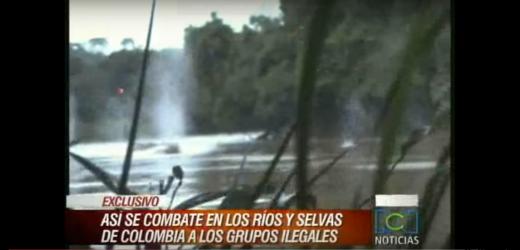 Canal 9, Crónica TV y América difundieron como nuevo un viejo video de Colombia para hablar de la Triple Frontera