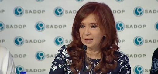 """CFK: """"Dejamos el Gobierno con 5,9% de desocupación"""""""
