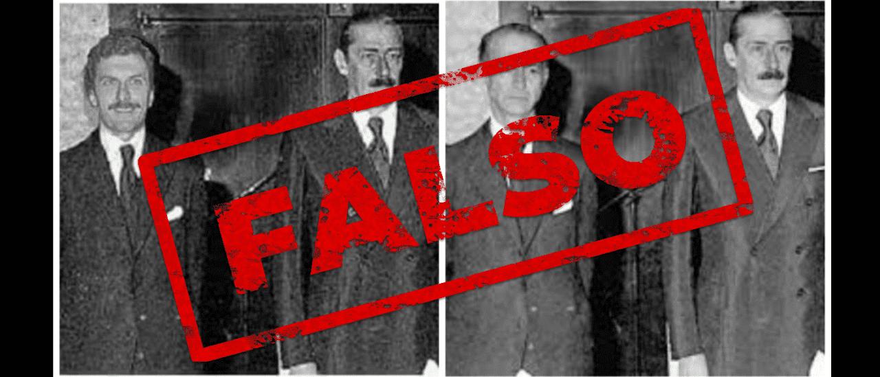 #FalsoEnLasRedes: la foto en la que Mauricio Macri está con Jorge Videla